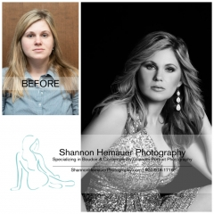 Boudoir and contemporary glamour portrait photography Shannon Hemauer Lancaster PA