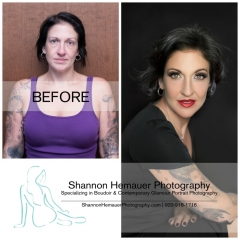 Boudoir and contemporary glamour portrait photography Shannon Hemauer Hershey PA