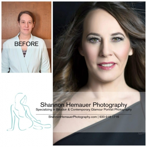 Boudoir and contemporary glamour portrait photography Shannon Hemauer Carlisle PA
