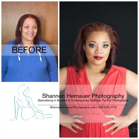 Curvy girl boudoir and contemporary glamour portrait photography Shannon Hemauer Dillsburg PA